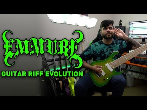 EMMURE Guitar Riff Evolution (The Complete Guide To Needlework - Look At Yourself Guitar Riffs)