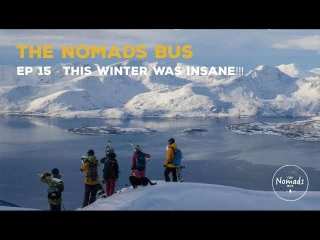 The Nomads Bus | Ep 15 | Recap of winter 2018, plus what is NEXT!
