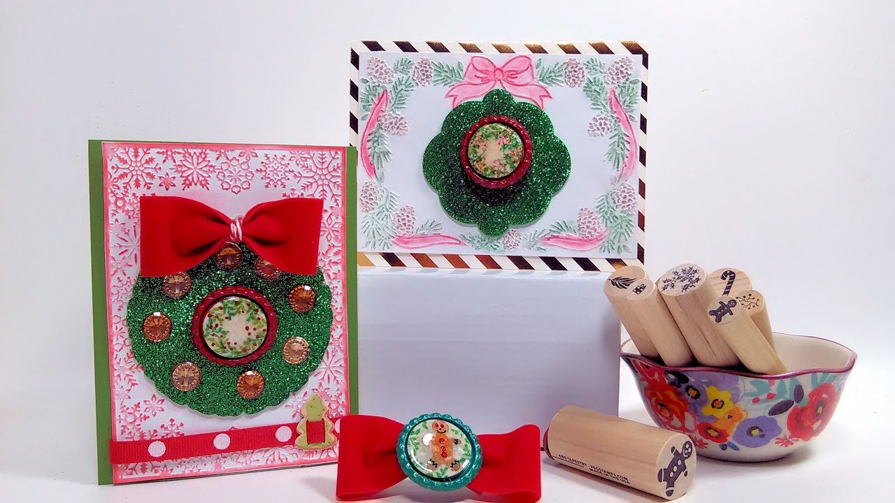 Bottle Cap Embellishments Cards Pins Hairbows For