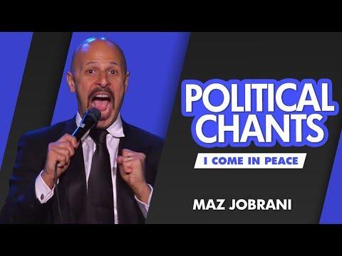 """""""Political Chants"""" - MAZ JOBRANI (I Come In Peace)"""