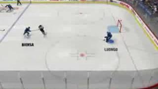 NHL 08 PC NHL 90s all star vs Vancouver Canucks period 1