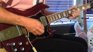 the who sparks solo guitar 1995 gibson sg standard w maestro vibrato vox ac30 amp