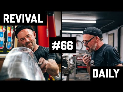 Fabricating our BMW protoype, Craig Rodsmith and we ride a Zundapp! // Revival Daily #66