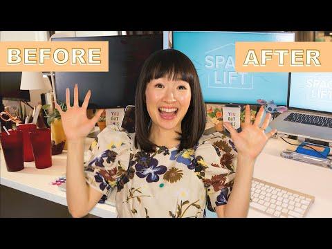 Marie Kondo Helped Me Organize My Desk • Nifty