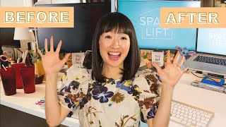 Marie Kondo Helped Me Organize My Desk • Nifty