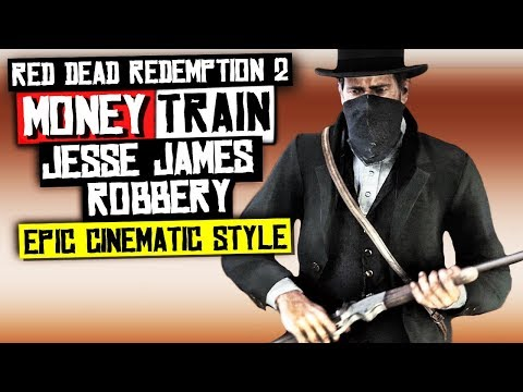 Red Dead Redemption 2 - Money Train Jesse James Robbery (EPIC CINEMATIC STYLE) Gameplay thumbnail
