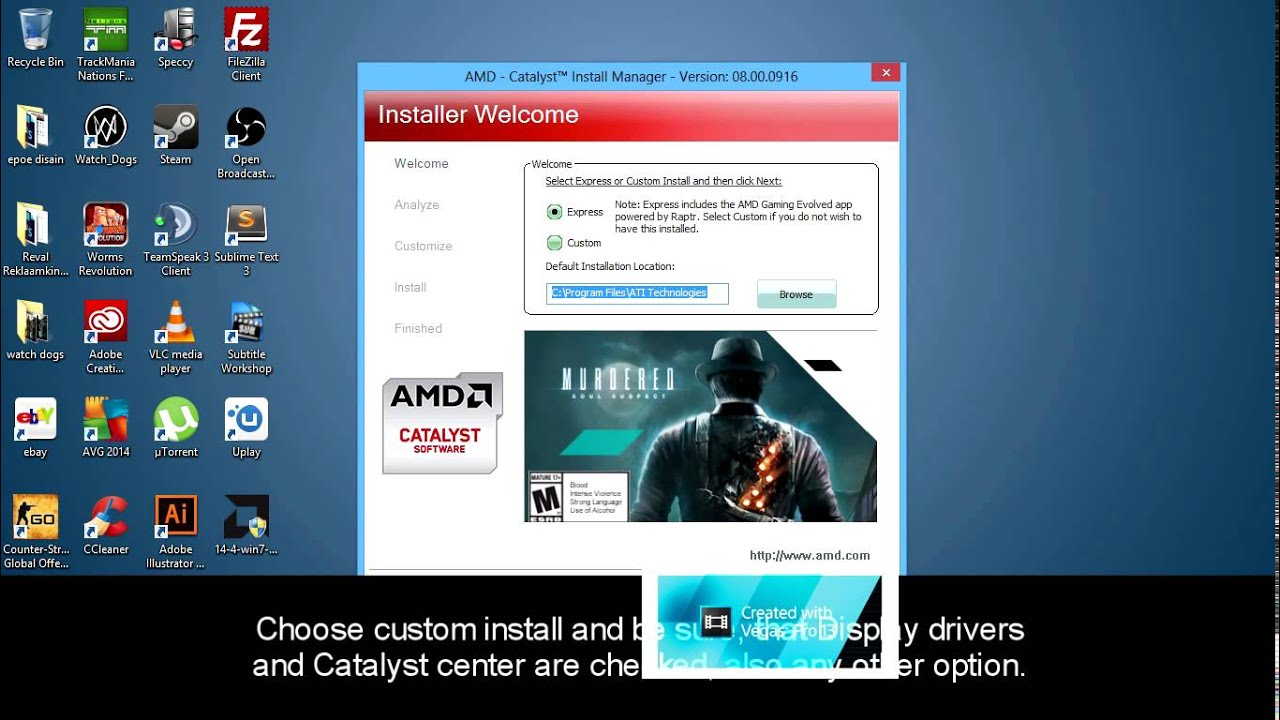 ATI Catalyst Control Center and Switchable Graphics fix for windows 7, 8  8 1, + win10 (Step by step)