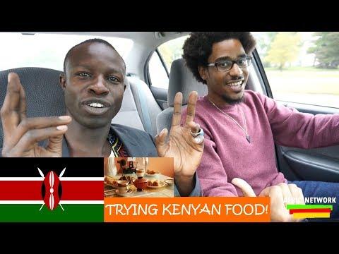 Trying Kenyan Food