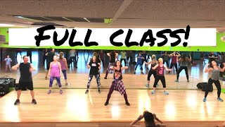 Full Cardio Dance Fitness Class - includes warm-up and cool down! | Groove Fitness