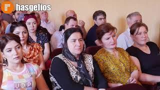 Торжественное собрание провели в администрации Хасавюрта