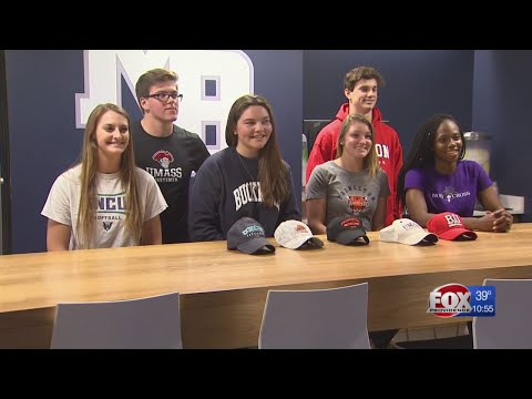 Student-Athletes signs national letters of intent