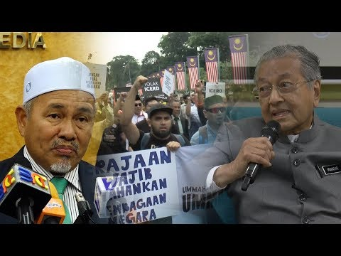 Muslim NGOs protest ICERD at Parliament