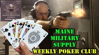 Maine Military Supply Poker Club
