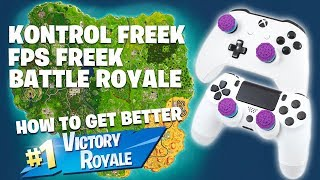 KontrolFreek FPS Freek BATTLE ROYALE Review (How to Get Better in Fortnite)