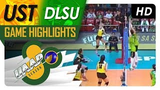 UAAP 80 WV: UST vs. DLSU | Game Highlights | April 8, 2018