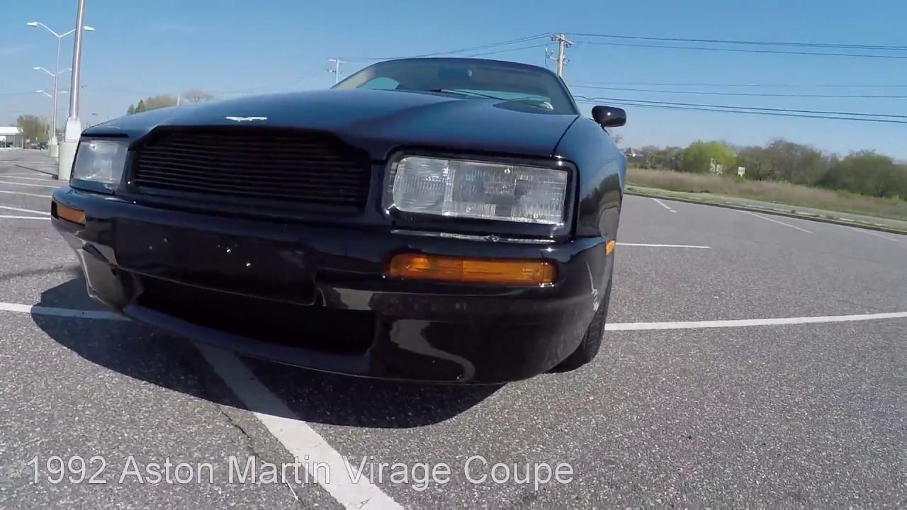 Aston Martin Virage Coupe YouTube - Aston martin virage coupe