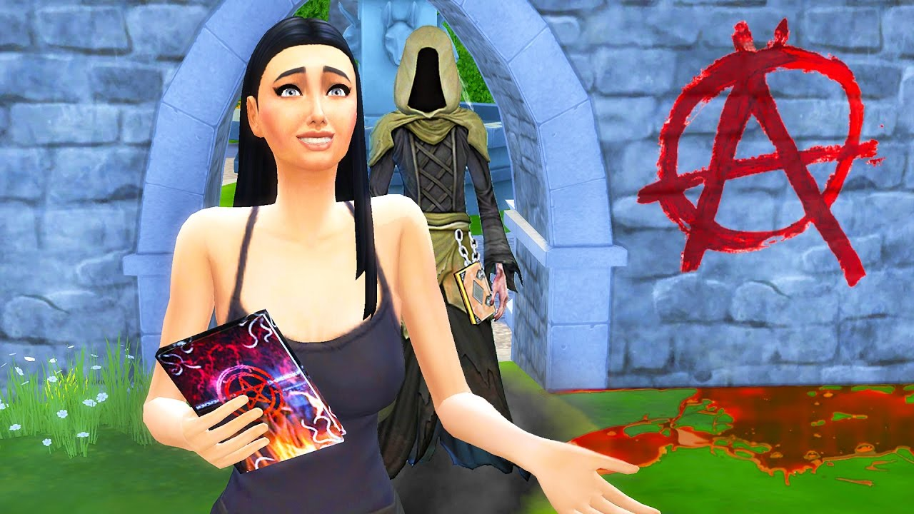 The Sims 4 - EVIL SPELLBOOK!! (Criminal Life, Episode 7)