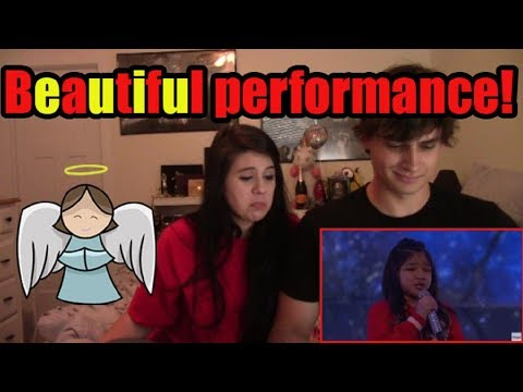 """Angelica Hale """"Clarity"""" Cover: America's Got Talent   Couple's Reaction!"""