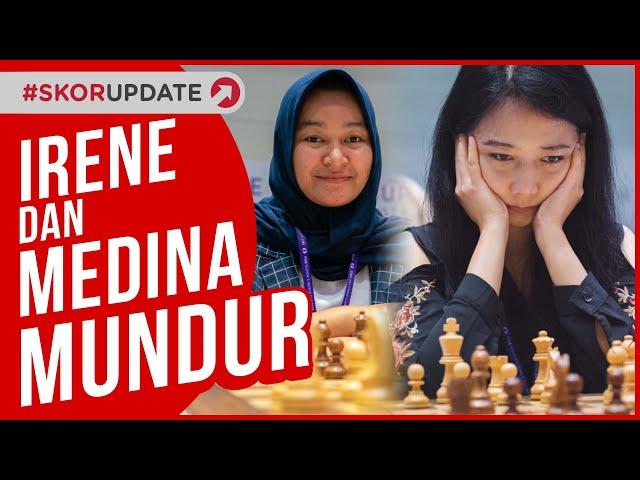 Irene Kharisma Sukandar dan Medina Warda Aulia Mundur Dari Piala Dunia Catur 2021