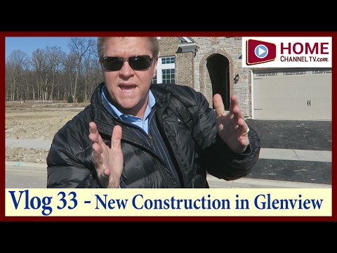 Home Tour Vlog 33New Construction Homes in Glenview, IL by David Weekley