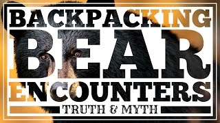 Backpacking Bear Encounters - Truth and Myth - CleverHiker.com