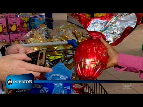 SBT Interior mostra como economizar na Páscoa e não ficar sem chocolate