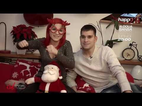 Cristina Ciobănașu și Vlad Gherman, poveste de Crăciun