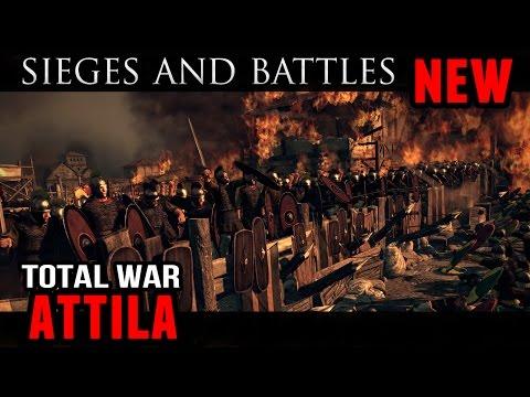 Total War: Attila - New Sieges and Battles! |