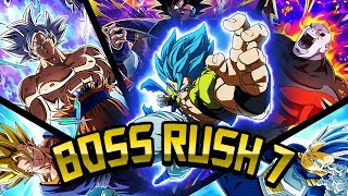 LA BOSS RUSH PIU' FACILE? New Boss Rush 7! DBZ Dokkan Battle ITA
