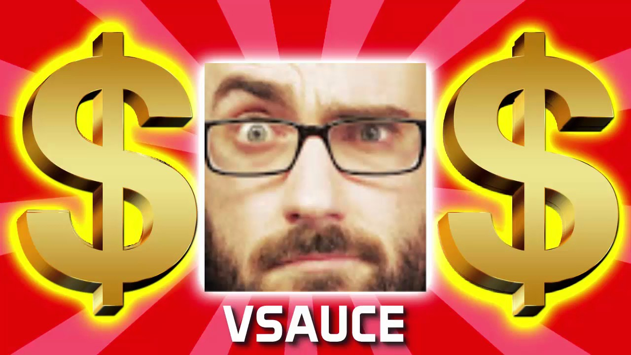how much money does vsauce make on youtube