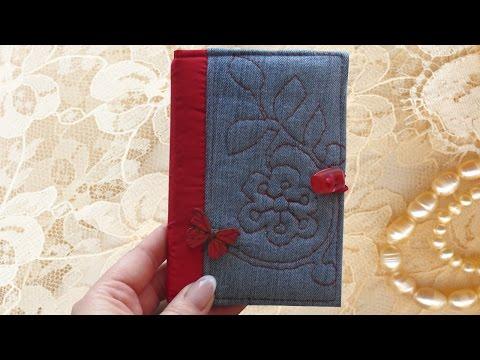 Обложка на паспорт своими руками / DIY/ #SvGasporovich / Мастер класс / Мягкая обложка на паспорт