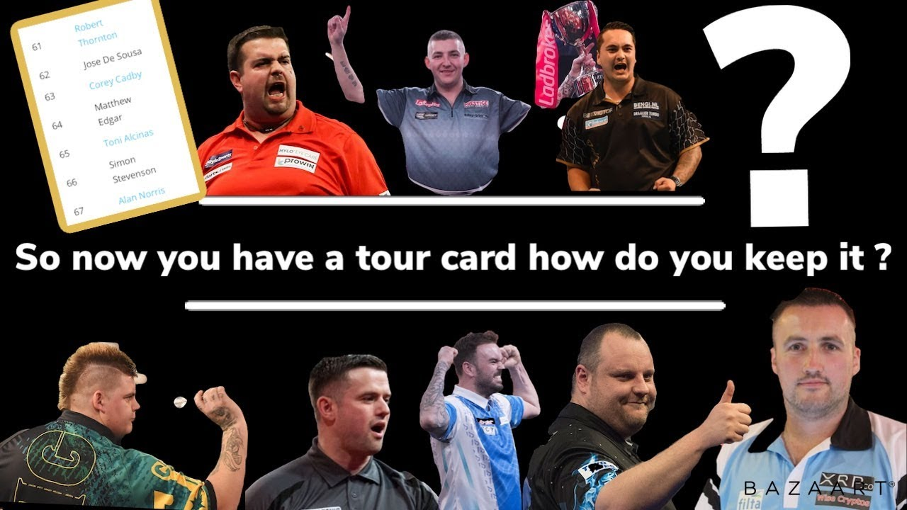 Pdc Tour Card