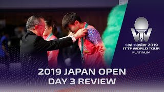 2019 ITTF World Tour Japan Open | Day 3 Review