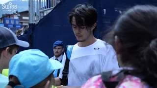 スイス・オープン2018  ダニエル太郎選手 シングルス2回戦 2018.07.25【スイス情報.com】
