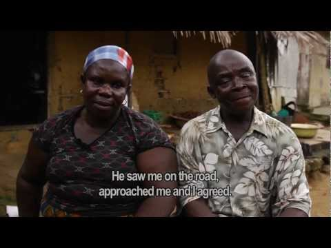 Nigeria Shell oil spill - Celia and Emmanuel