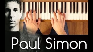 Me And Julio Down By The Schoolyard (Paul Simon) [Easy-Intermediate Piano Tutorial]