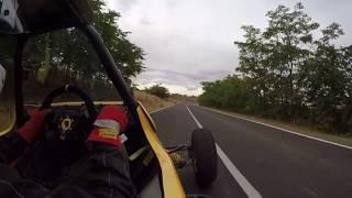 Subida a Colmenar de Oreja 2018. Keke Fdez - Kartcross Semog