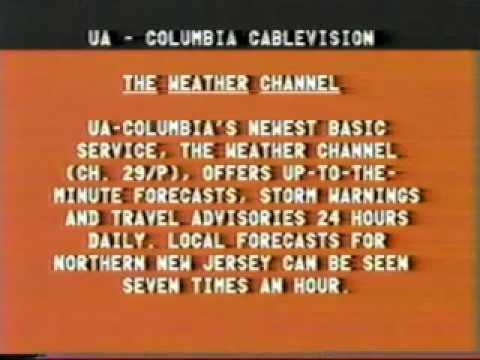 UA - Columbia Cablevision Bulletin Board 1982