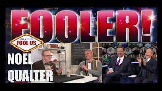 Penn & Teller FOOLED! INCREDIBLE FUNNY TIME TRAVEL TRICK! / Fool Us / Noel Qualter