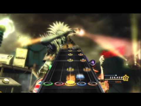 Guitar Hero Warriors Of Rock NJ Legion Iced Tea - A Day To Remember Expert Guitar 100%