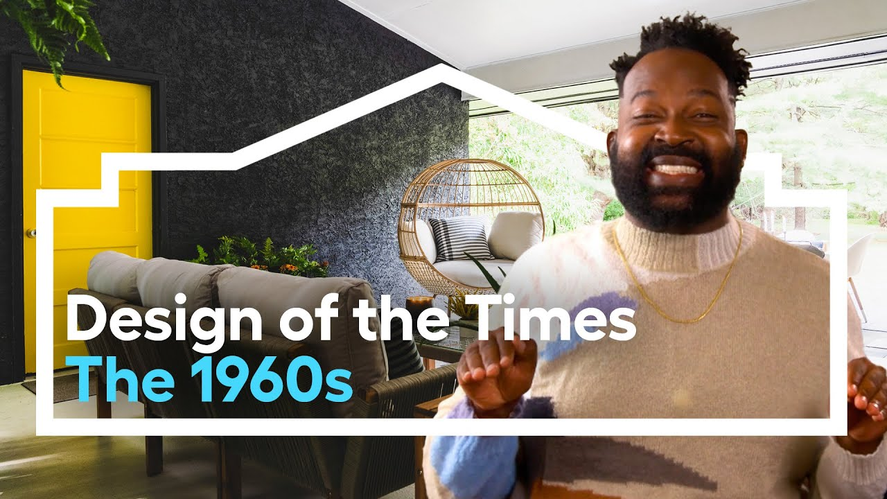 Download A 1960s Inspired Makeover /// Design of the Times (Episode 4) #loweshomeimprovement #makeover