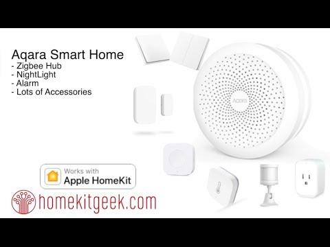 Aqara Homekit Hub: First Looks - YouTube