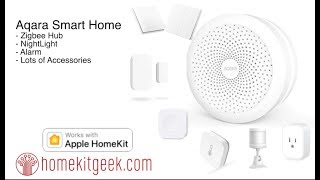 Aqara Homekit Hub: First Looks