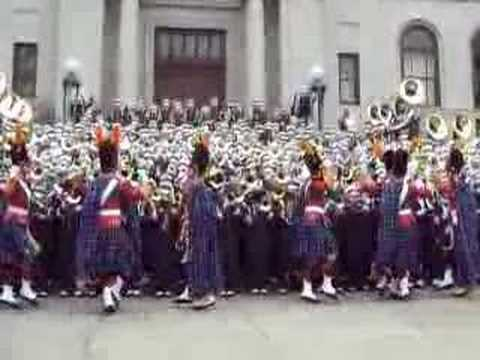 IRISH GUARD and ND Victory March