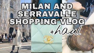 🛍SHOPPING IN MILAN AND SERRAVALLE OUTLET| WHAT I BOUGHT from Burberry, Canada Goose and more!