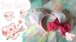 How to make Sugar Cub ears