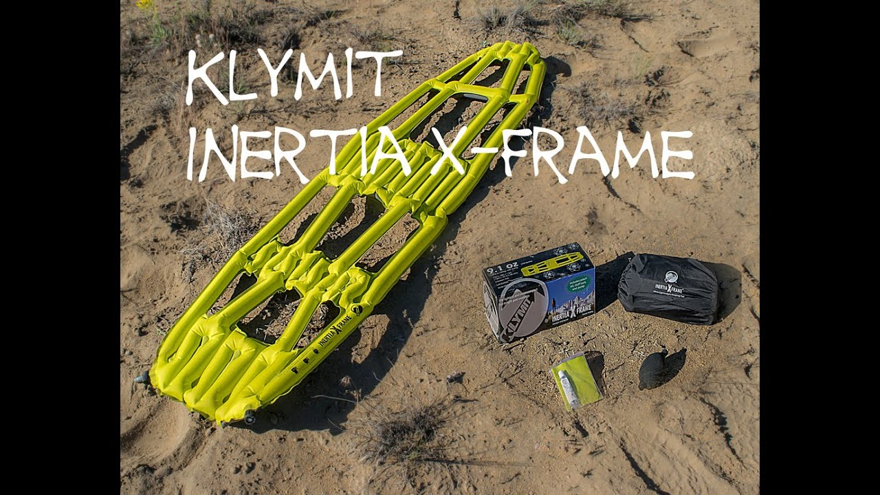 Klymit Inertia X Frame Sleeping Pad Review - YouTube