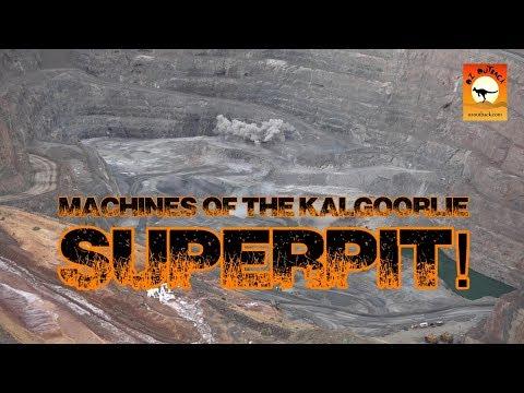 Kalgoorlie Superpit - World Biggest Liebherr CAT Gold Mining Equipment Monster Trucks In Action