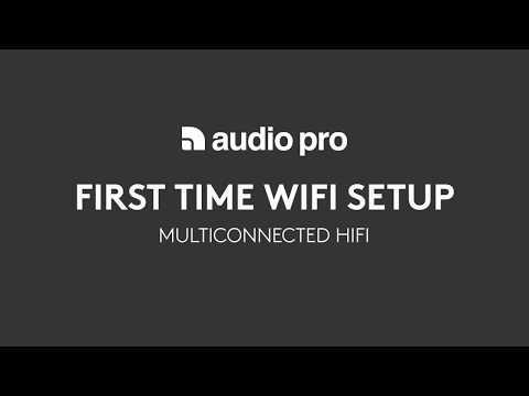 AudioPro multiroom Wifi Setup