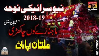 Maa Janaze Ku Cha Khari Hoi || Multan Party || New Noha 2018 || TP Moharram